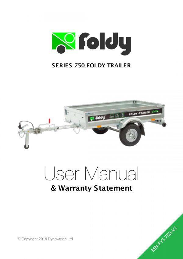 Foldy S750 User Manual_MN-FYS750-V1